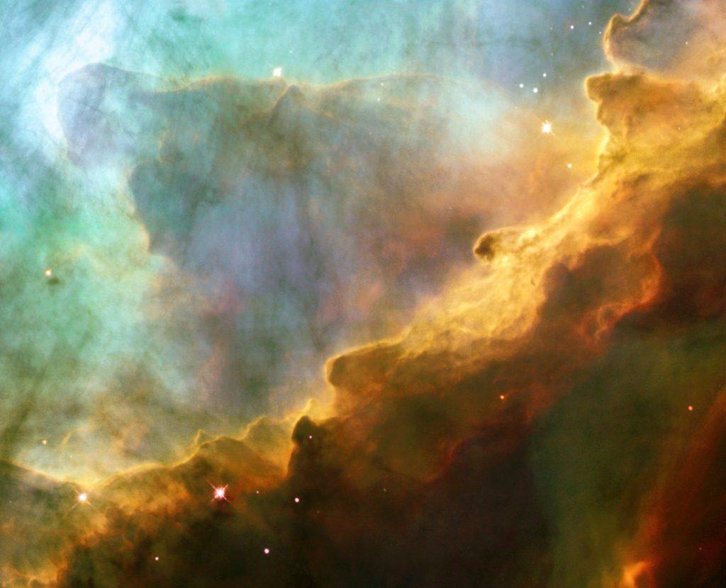 22 Gas storm in Swan Nebula