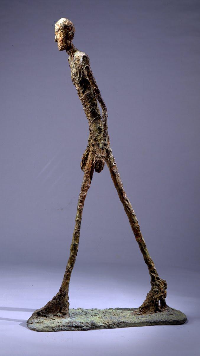 Alberto Giacometti Lhomme qui marche I