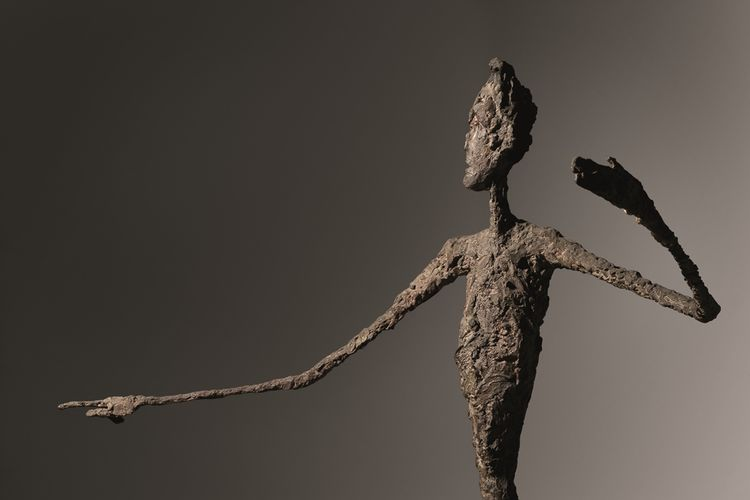 Alberto Giacometti Man Pointing