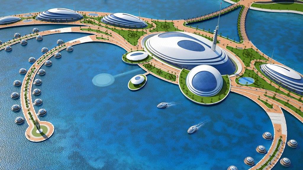 Курорт-осьминог в Катаре