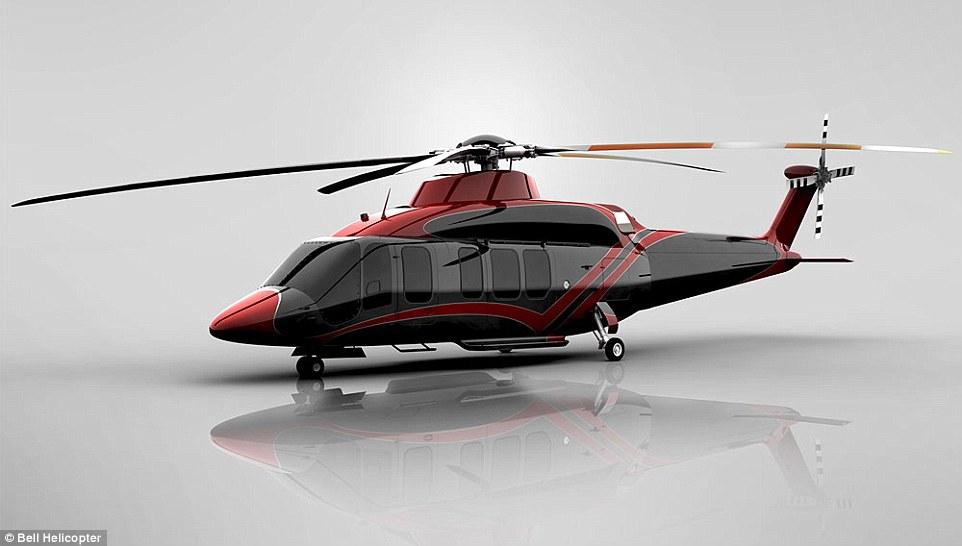 Люксовый вертолет Bell 525 Relentless