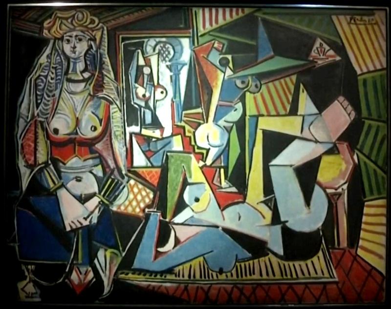 Les femmes dAlger Picasso