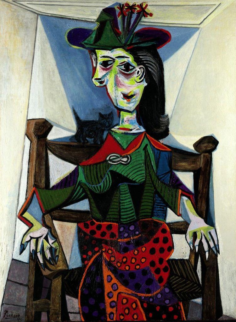 Pablo Picasso Dora Maar au chat
