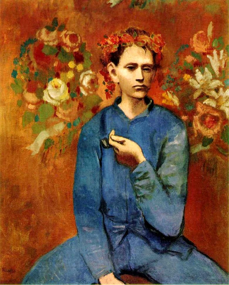 Pablo Picasso Garcon a la pipe