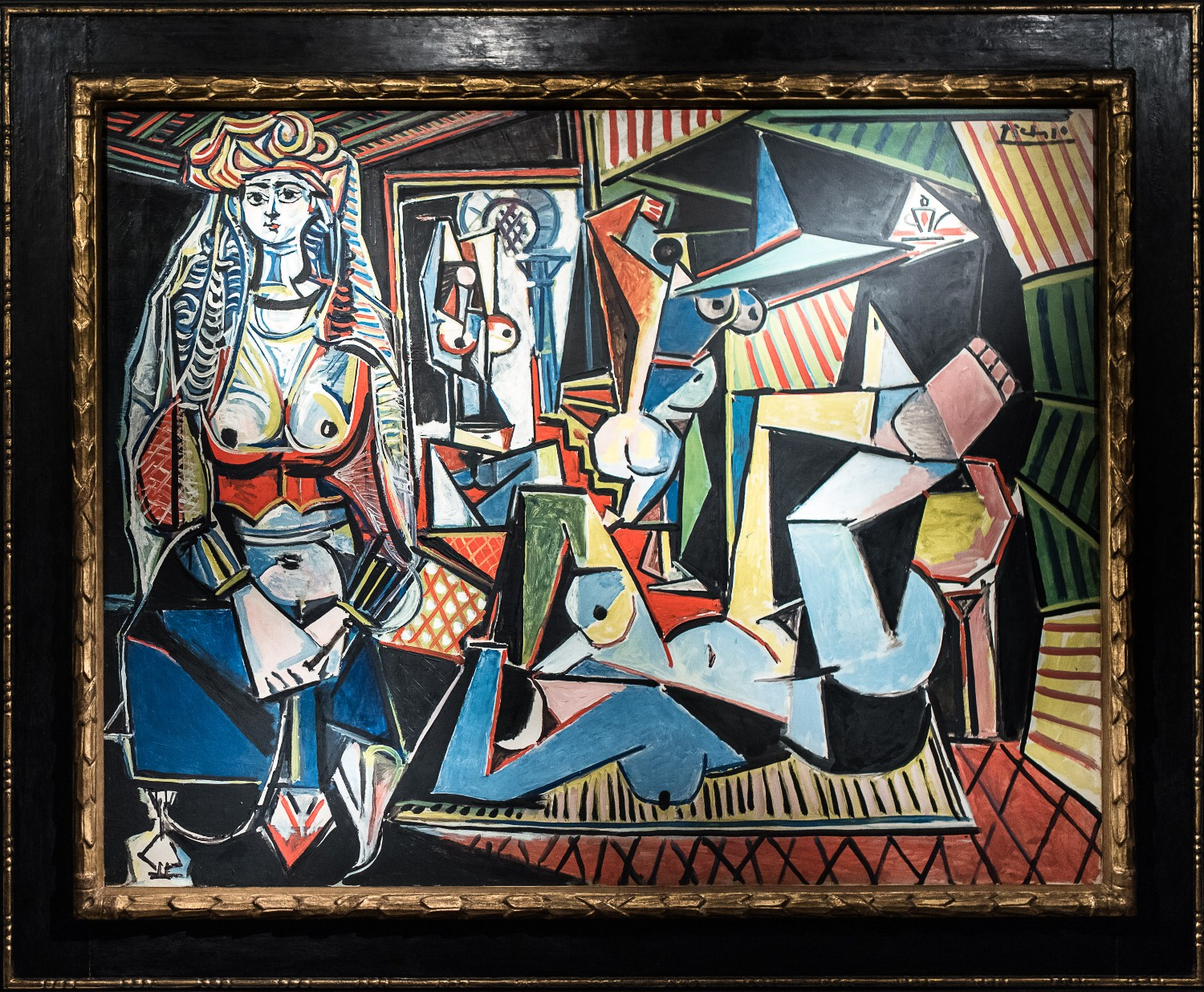 Pablo Picasso The Women of Algiers