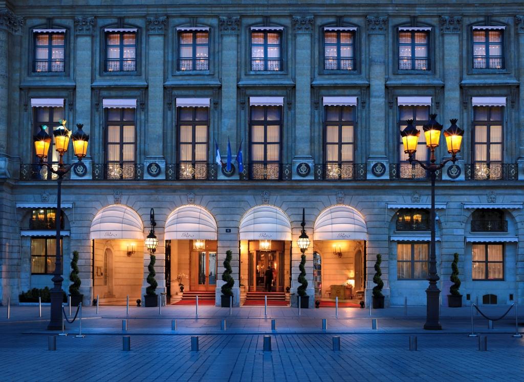 Ritz hotel Paris 2010