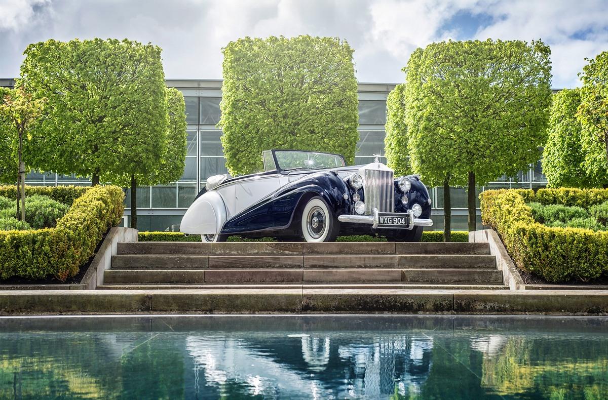 """Один из лучших Rolls-Royce Dawn 1952 года. По его образу будет создан новый """"Рассвет"""""""