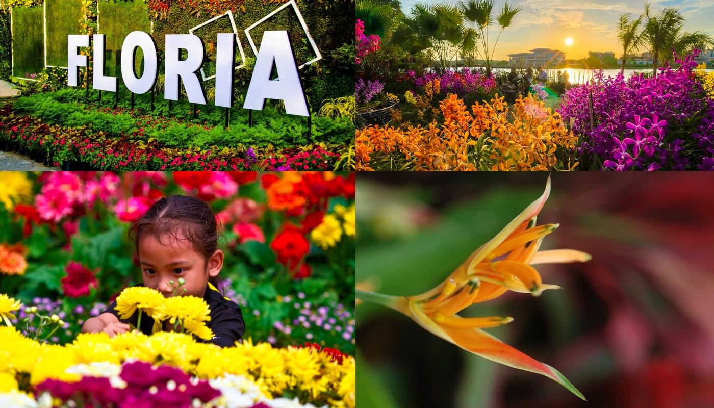 Royal FLORIA Putrajaya Flower and Garden Festival 2015 4
