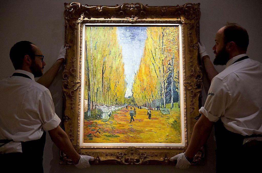 Картину «Аллея Алискамп» Ван Гога продали за  млн