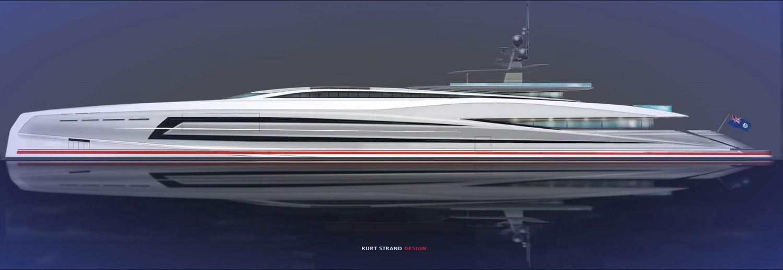 75 Meter Mega Yacht Concept