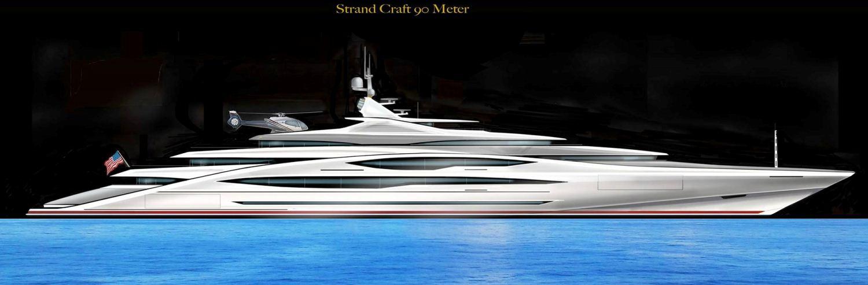 90 Meter Mega Yacht Concept
