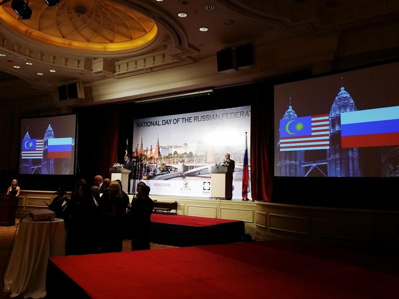 Ювелирный образ России в Малайзии