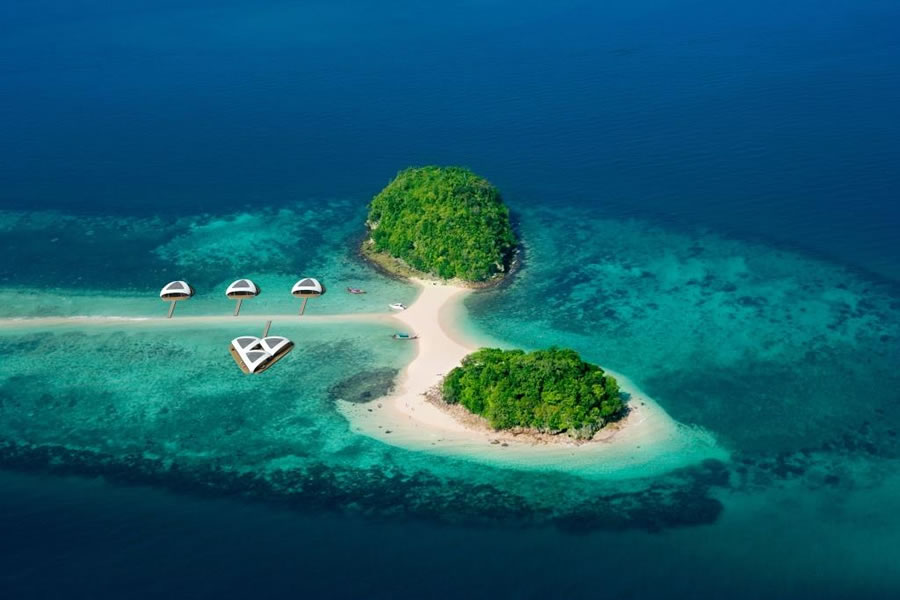 BMT Modular Floating Villas Make Luxury Offshore Living 2