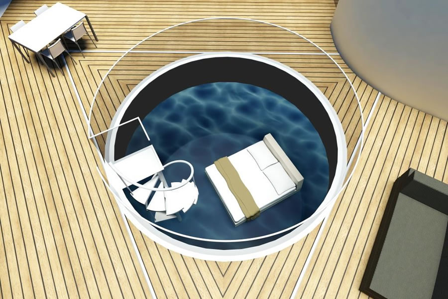 Плавающая вилла SeaScape от BMT