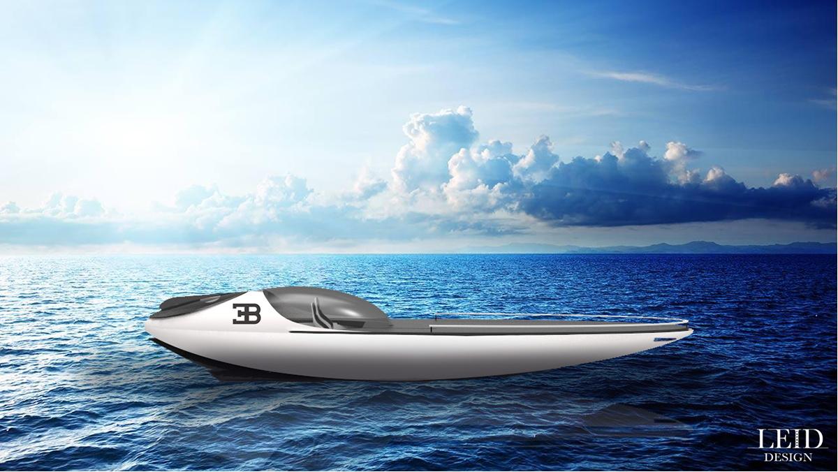 лодка бугатти цена