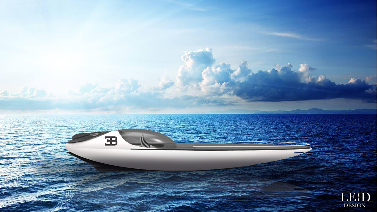 Bugatti Atlantean Racing Yacht 4