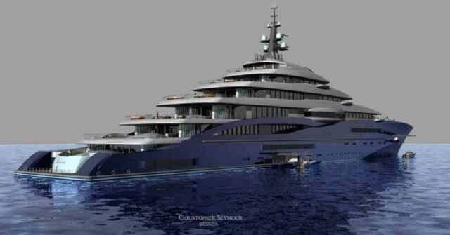 Самая большая яхта Double Century за $770 млн