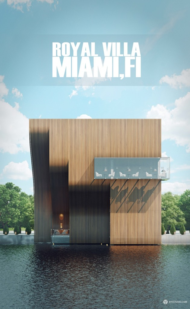 Футуристическая вилла Royal Villa в Майами