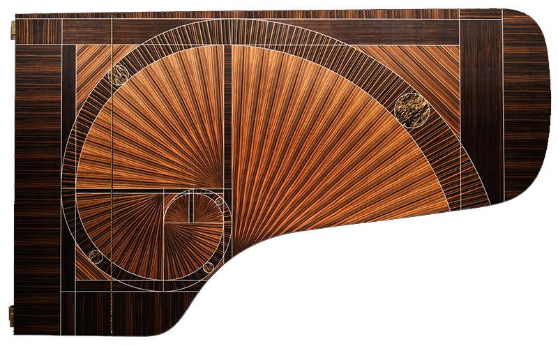 Steinway Sons Fibonacci Piano White