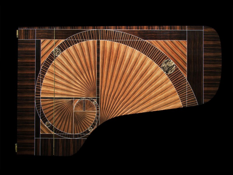 Steinway Sons Fibonacci Piano