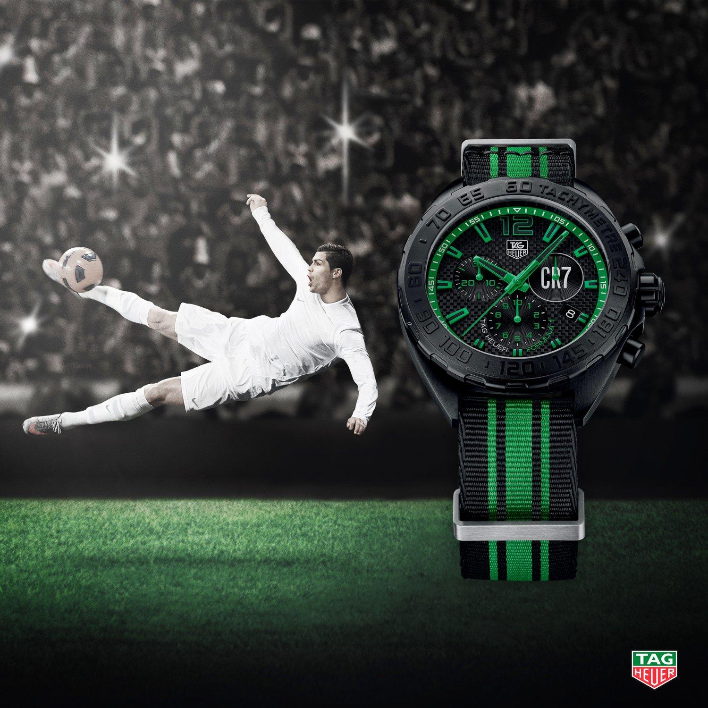 TAG Heuer CR7 Formula 1 by Cristiano Ronaldo