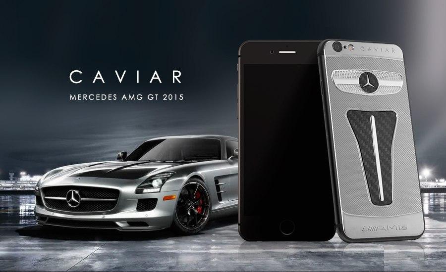 Caviar iPhone 6 Motore Mercedes AMG GT