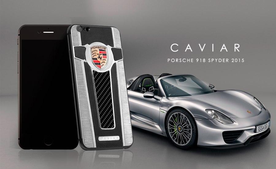 Caviar iPhone 6 Motore Porsche Spyder