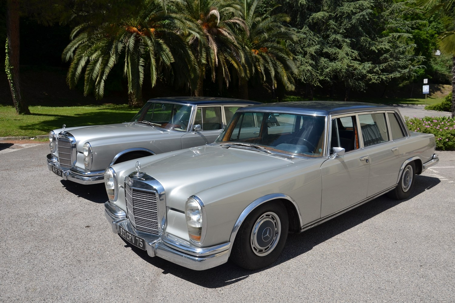 Mercedes-Benz 600 limousines 1967