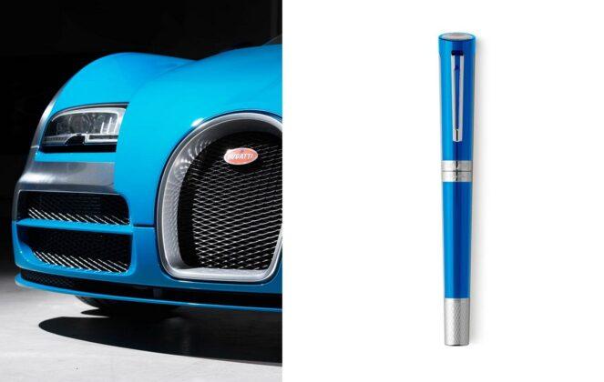 Ручки Montegrappa Bugatti Pur San Duetone