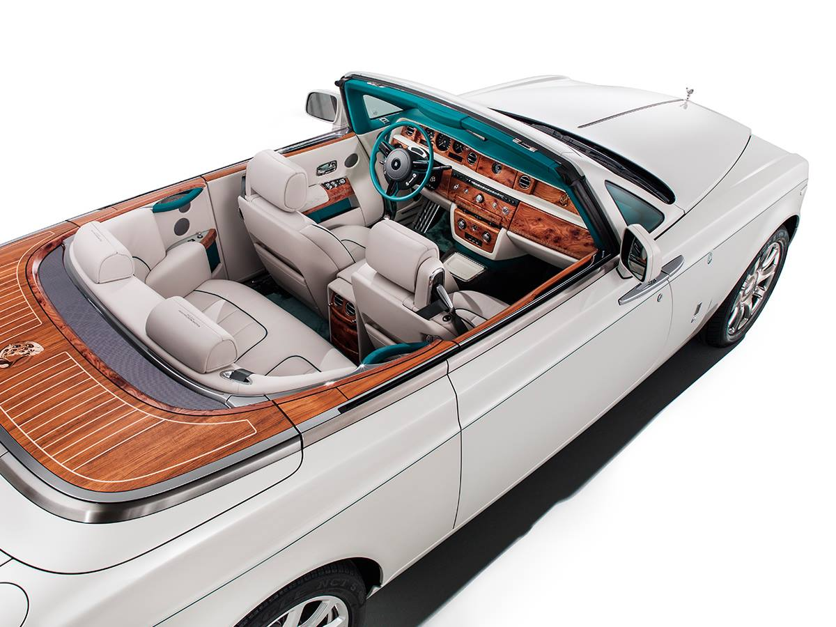 Rolls-Royce Phantom Maharaja Peacock Drophead Coupe