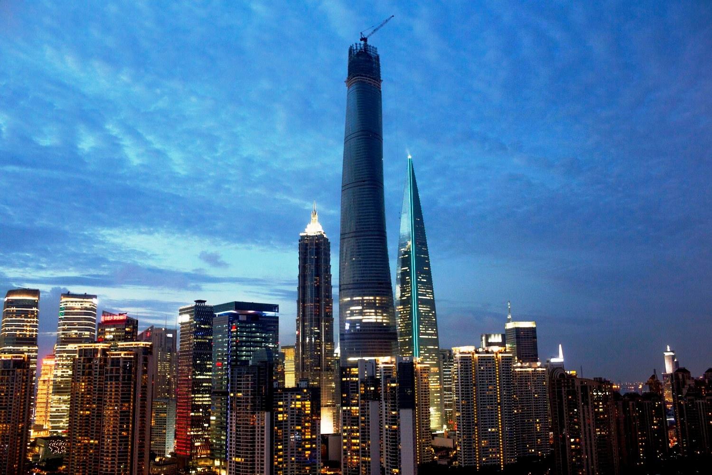 Shanghai Tower 2015