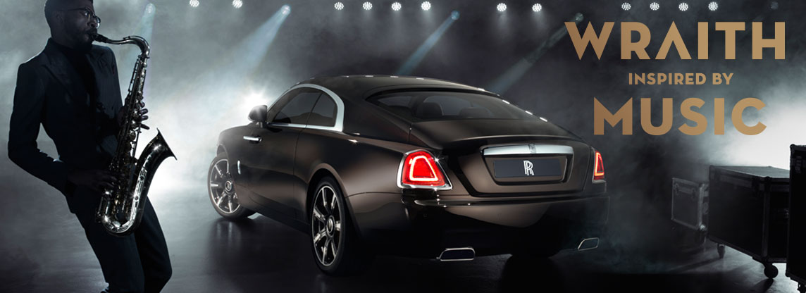 Rolls-Royce Wraith Inspired by Music 2