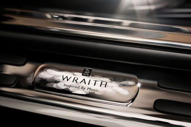 Музыкальный люкскар Rolls-Royce Wraith Inspired by Music