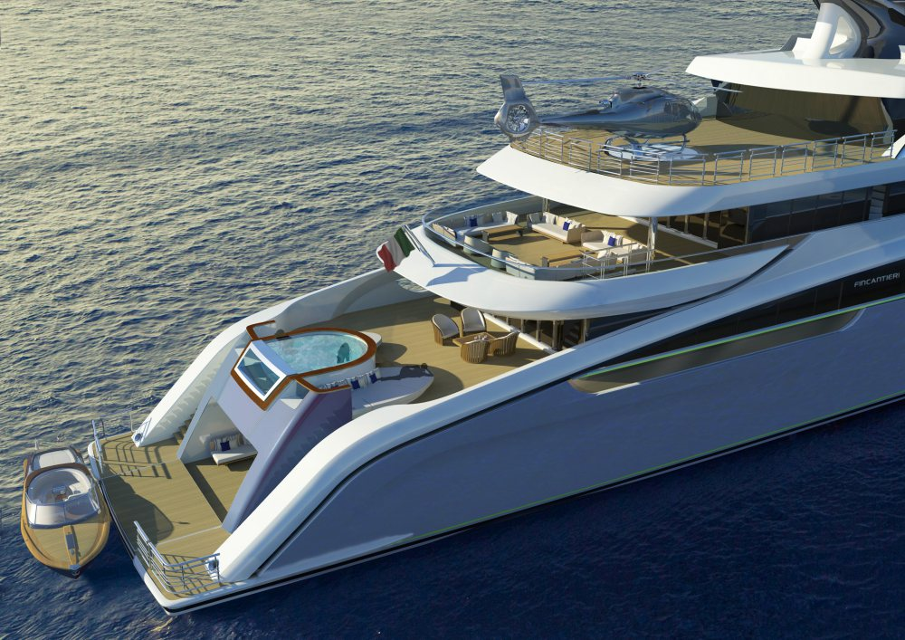Aura yacht by Fincantieri and H2 Yacht Design 2