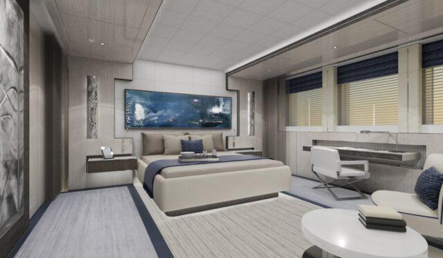 Суперяхта Aura от Fincantieri и H2 Yacht Design