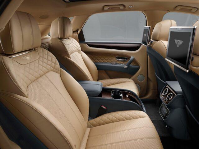 Bentley Bentayga - мощнейший SUV в мире