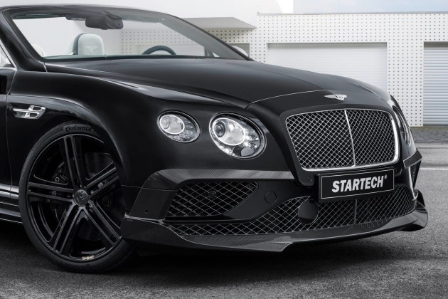 Bentley Continental Carbon и Flying Spur от Startech