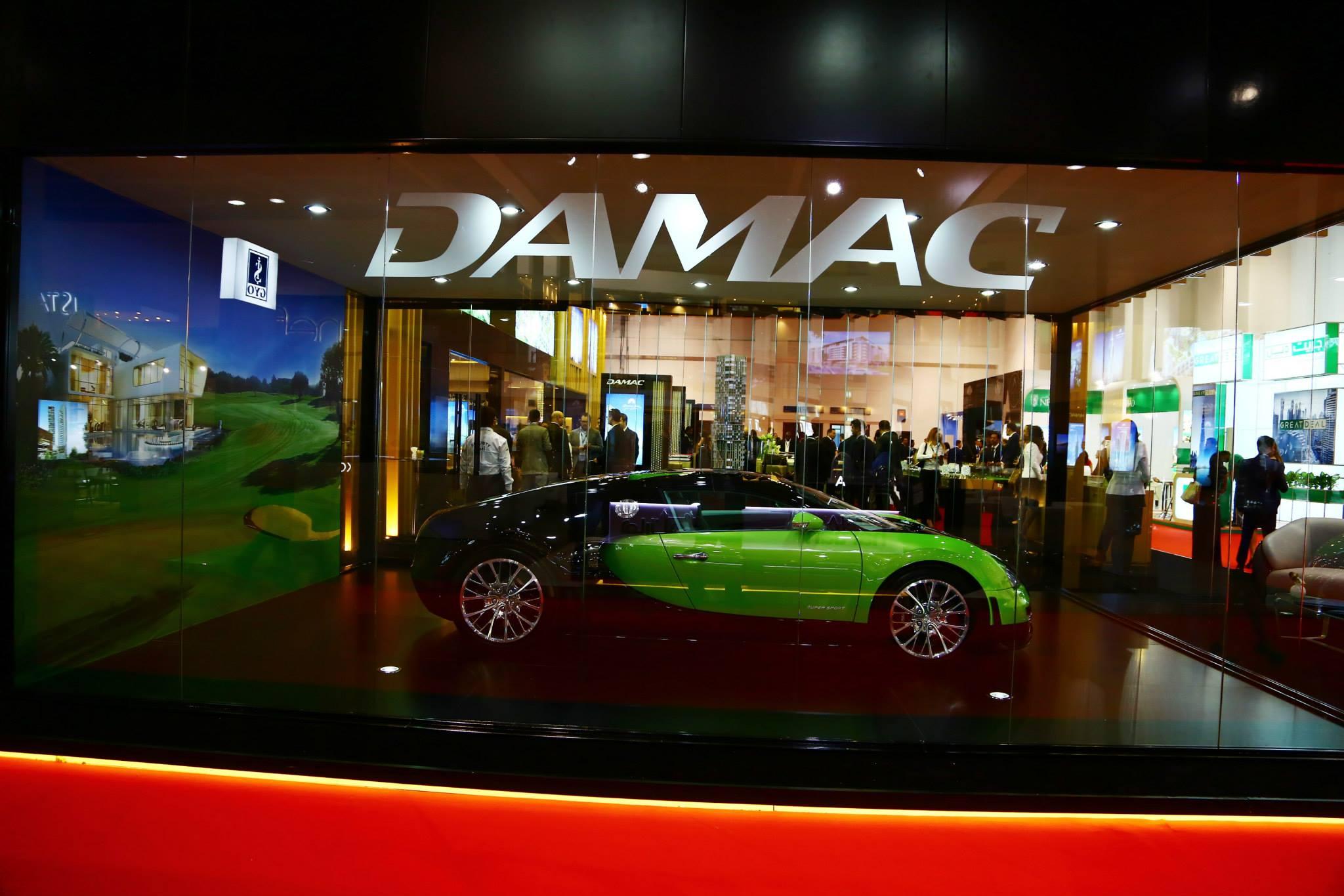 Bugatti DAMAC Properties Cityscape Global 2015