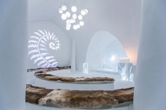 Icehotel - ледяной отель в Швеции