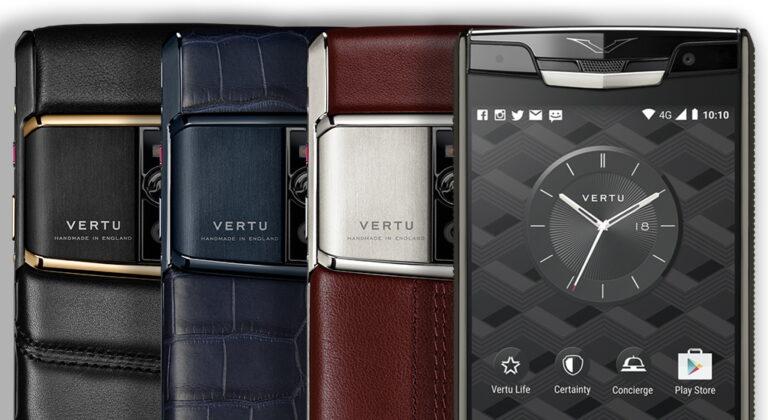 Новый Vertu Signature Touch
