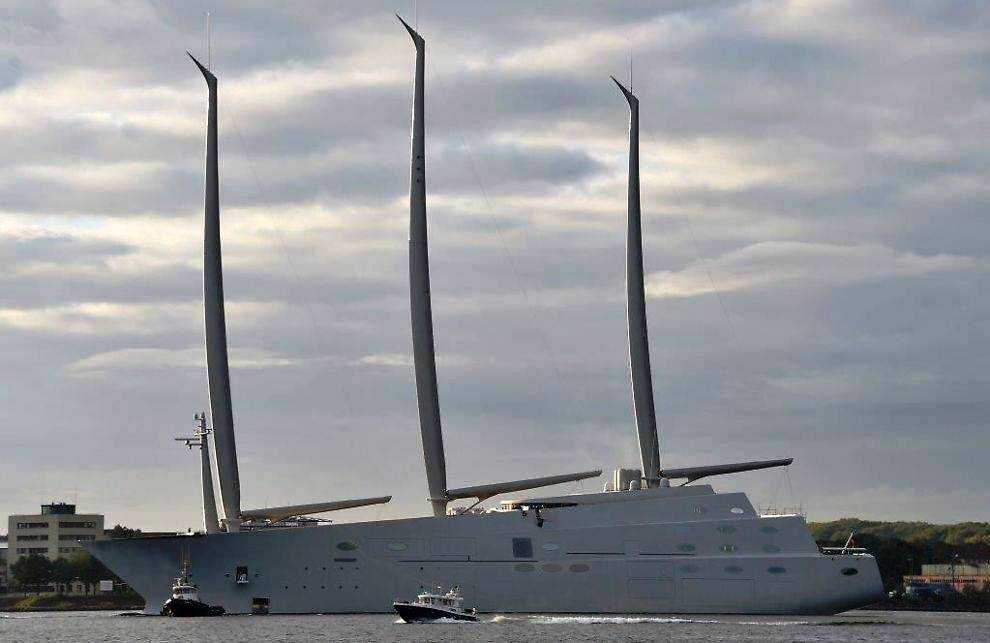 White Pearl A (Sailing Yacht A)