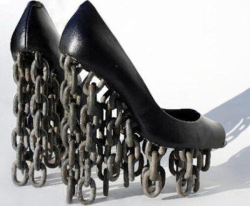 Самая сумасшедшая обувь на каблуке