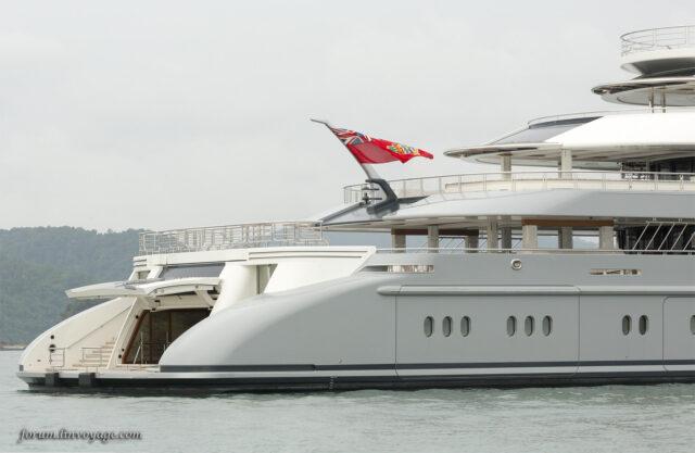 Яхта Ocean Victory показалась в Малайзии