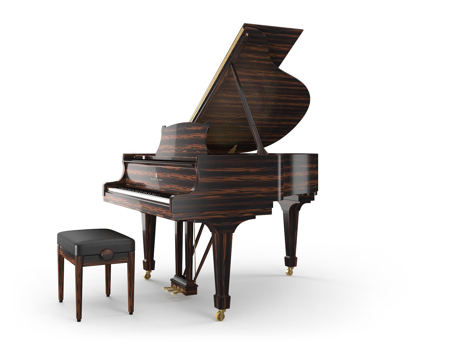SS Grand Piano S Macassar Ebony