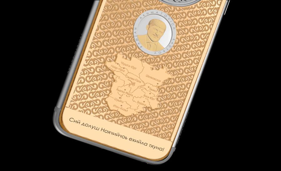 iPhone 6s с портретом Рамзана Кадырова