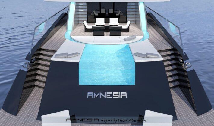 Суперяхта Amnesia от Alessandrini Letizia