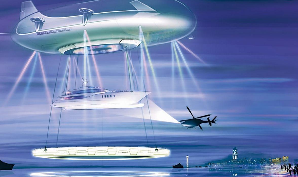 Andrew Winch Designs sky ship Halo 3