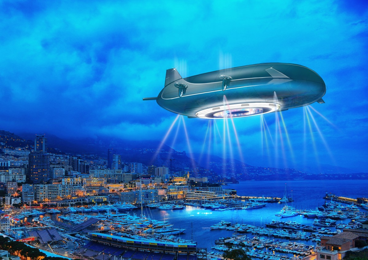 Andrew Winch Designs sky ship Halo