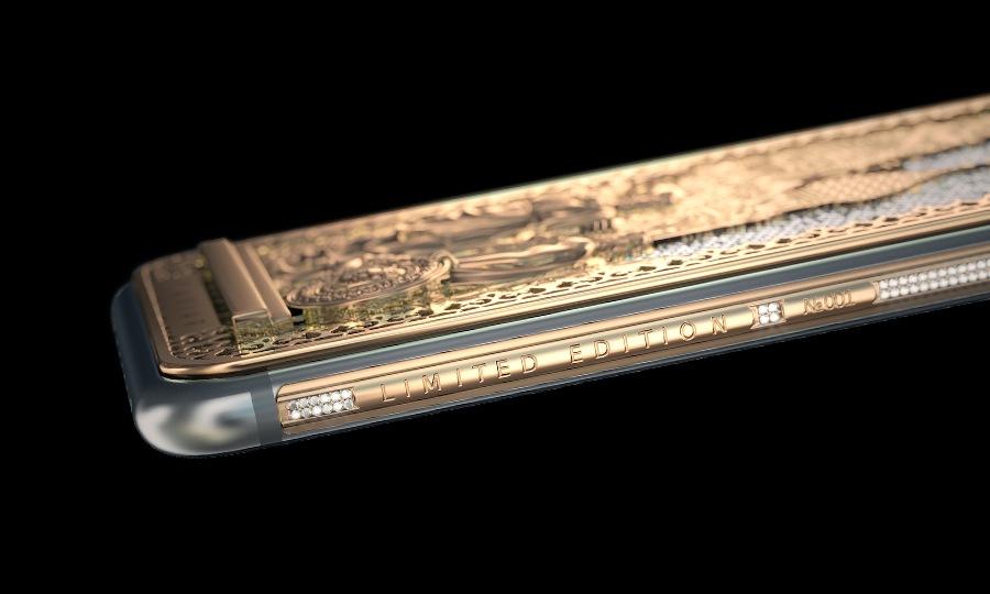 Бриллиантовый Caviar iPhone 6s ко Дню Народного Единства