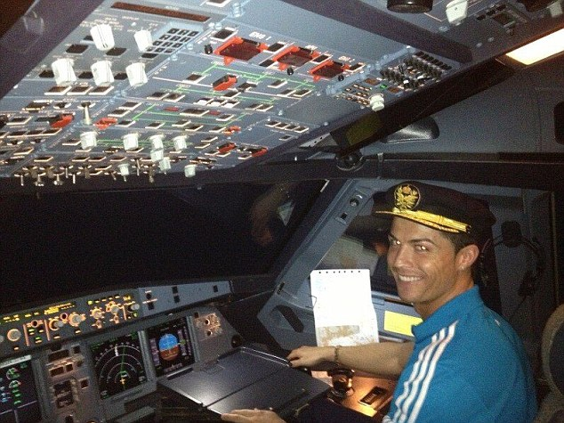 Cristiano Ronaldo Gulfstream G200